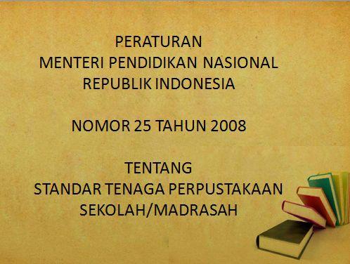 Perpustakaan Bunga Bangsa ƸӜƷ: Peraturan Menteri No.25 tahun 2008 Tentang Tenaga ...