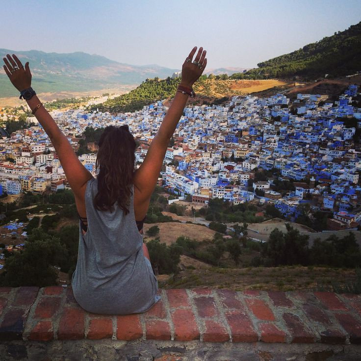 Sunrise over Chefchaouen