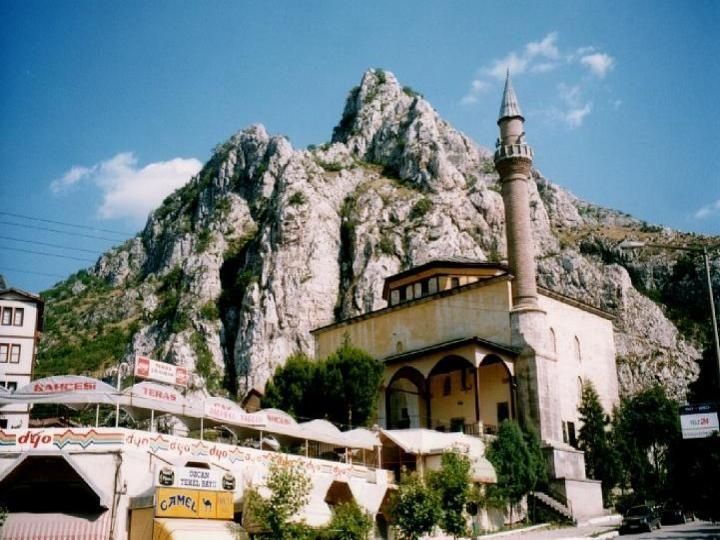 Turkey Amasya city