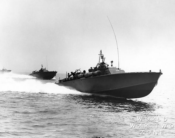 PT BOATS - my grandpa spent a LOT of time in WWII on a PT boat delivering mail to the larger ships in the Pacific Theatre