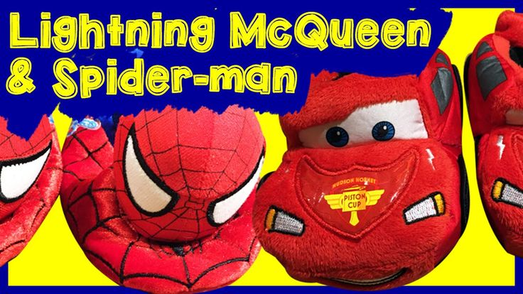 DISNEY PIXAR CARS Lightning McQueen and Marvel Spider-man Dancing in Sli...