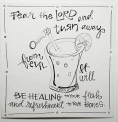 BAJ / Doodle101 / Erfrischung / Sue Carroll   – Bible Journaling