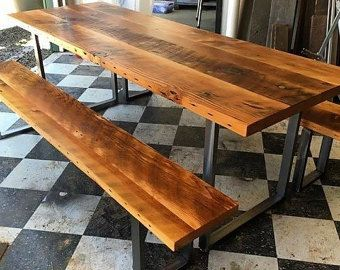 Reclaimed wood  table. Industrial table. Industrial Desk. Rustic table. Rustic desk. Old table. Reclaimed wood desk. Confrence table.