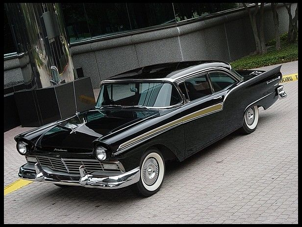1957 Ford Fairlane 500 Club Sedan