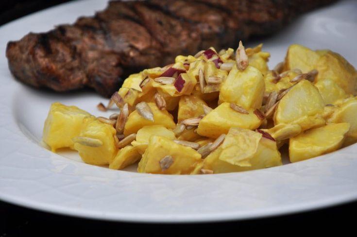 kartoffelsalat, Danmark,Andet, Andet, Grill, opskrift