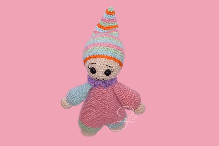 Cuddly Girl amigurumi based on Lilleiis