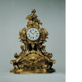Musical clock Attributed to Jean-Claude Chambellan Duplessis, the Elder (1695 - 1774), Designer Joseph Coteau (1740 - 1812), Enameller Pierre Daillé (active between: 1760 - 1799), Movement Maker Claude Richard, Spring Maker Michel Stollewerck, Carillon Composer France 1763
