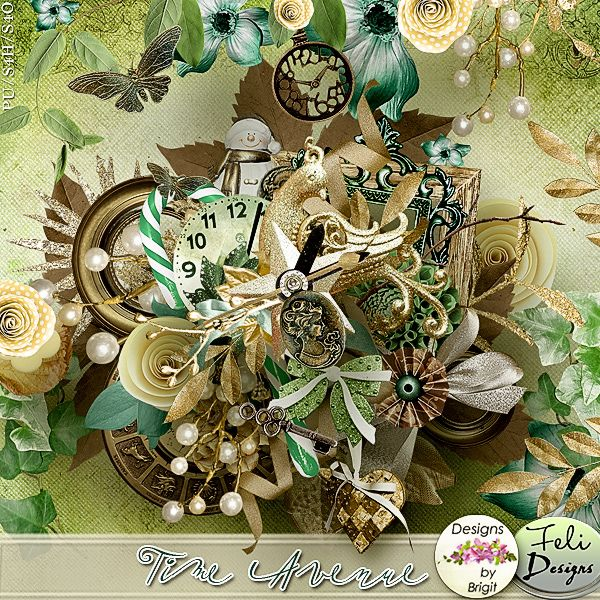 Time Avenue Kit by Feli and Designs by Brigit