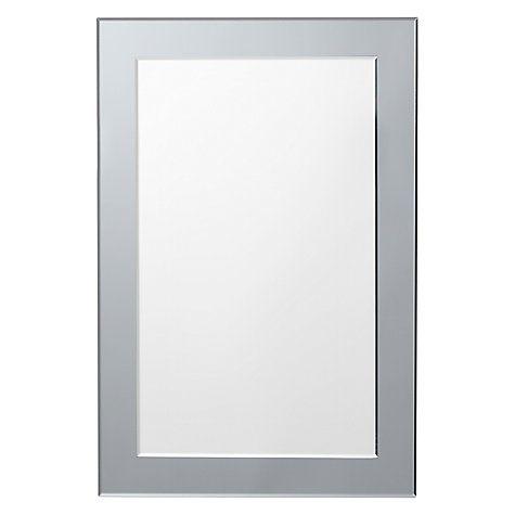 Buy John Lewis Smoked Glass Wall Mirror Online at johnlewis.com