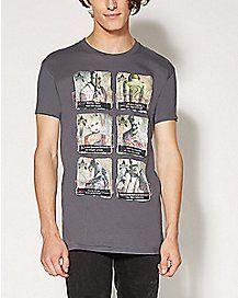 Lineup Arkham City Villains T Shirt - DC Comics
