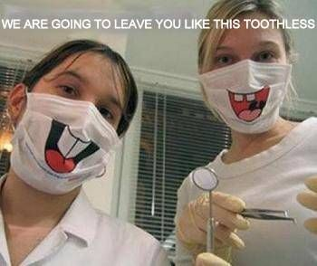 Funny Pictures- Dentist Funny