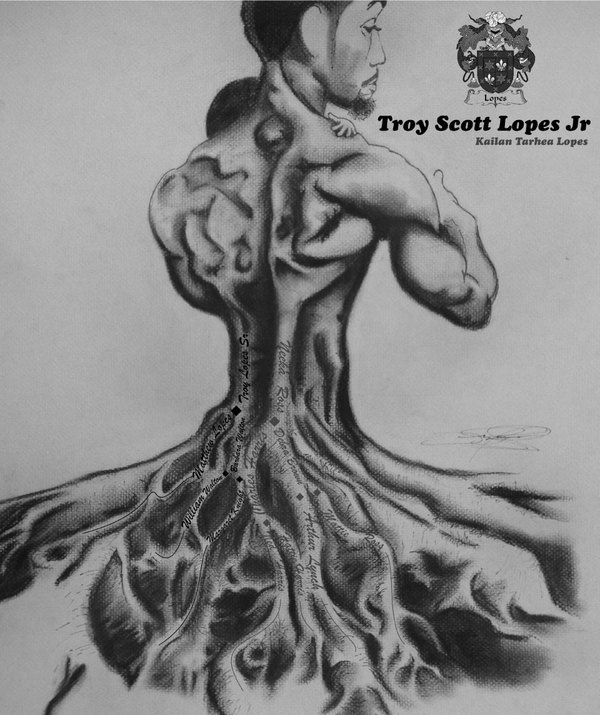 Family Tree by Troy Lopes, via Behance
