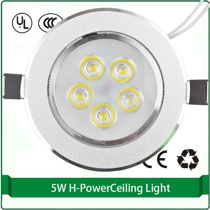 free shipping ceiling light 5w 90mm hole led 3pieces pack office ceiling light 110v 220v warm white 3000K #Affiliate