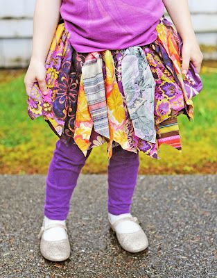 no sew fabric tutu -