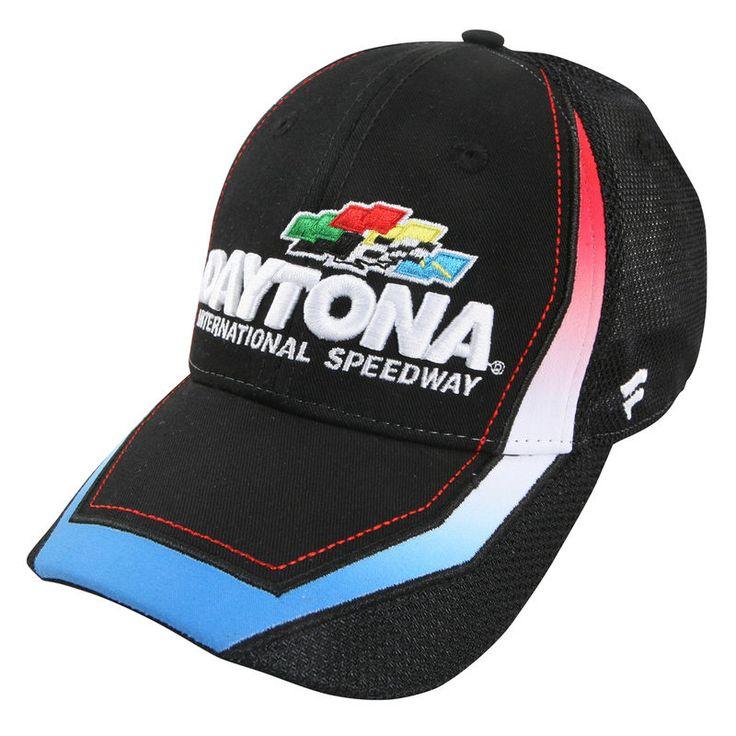 Daytona International Speedway Adjustable Hat - Black