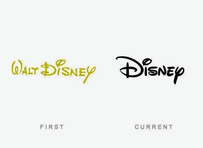 El primer y ultimo #logotipo de #WaltDisney hasta la fecha.