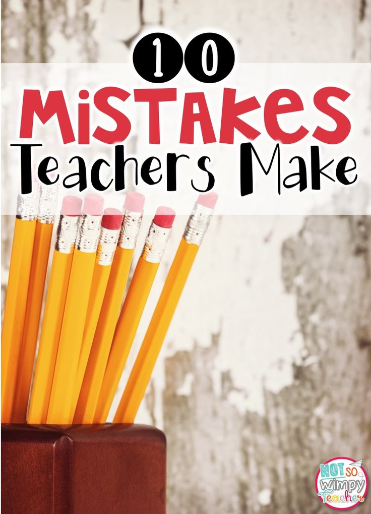 Teachers are humans. They are not infallible. They make mistakes. Even the best teachers. And they learn from their mistakes and become...