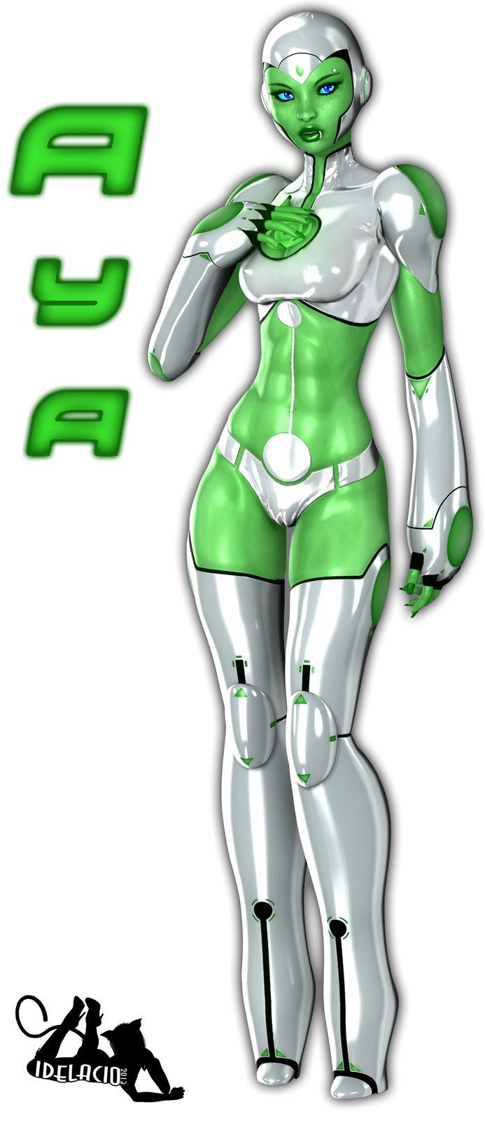 Aya, Green Lantern by Idelacio.deviantart.com on @deviantART