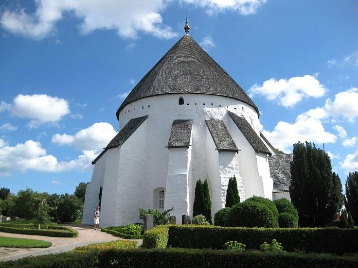 BORNHOLM - Østerlars Church. Denmark