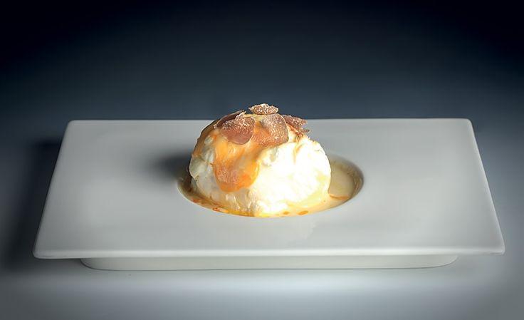 Sýrové suflé s bílým lanýžem : Grant Jones