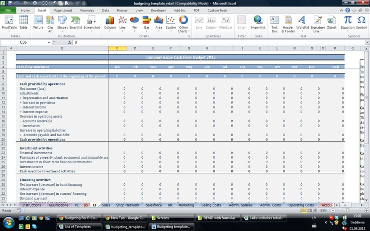 30 best EXCEL images on Pinterest Business planning, Business tips - microsoft office small business templates