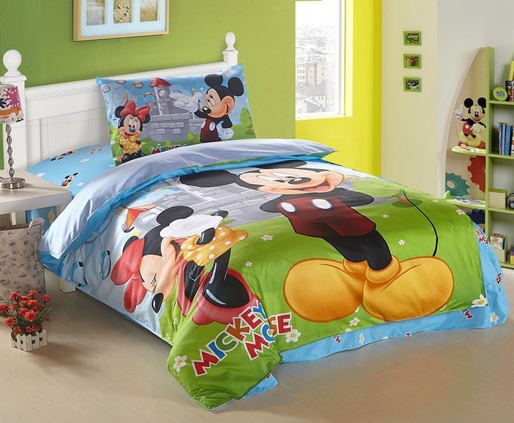 38 best mickey mouse bedroom images on Pinterest Mickey mouse
