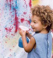 Outdoor Spray Painting