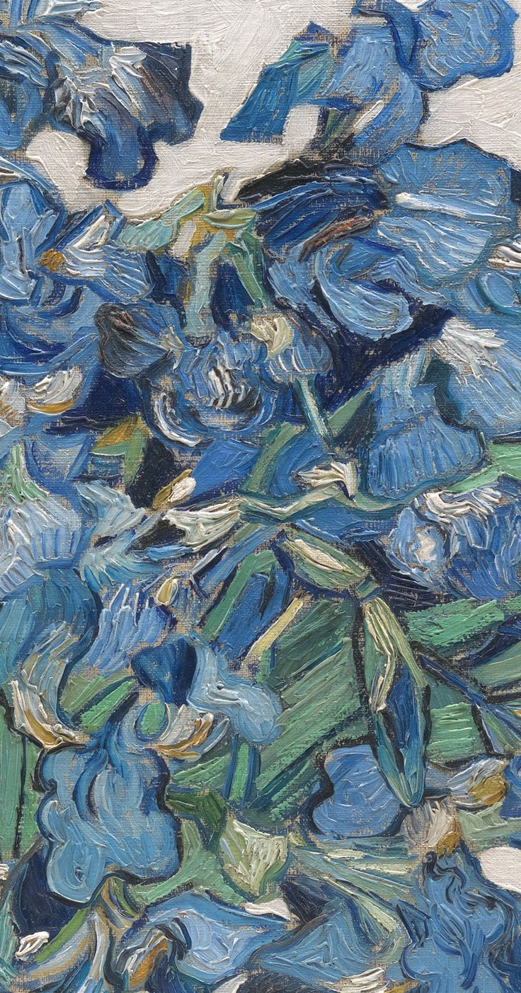 Vincent van Gogh - Irises, 1890 (detail) The Metropolitan Museum of Art