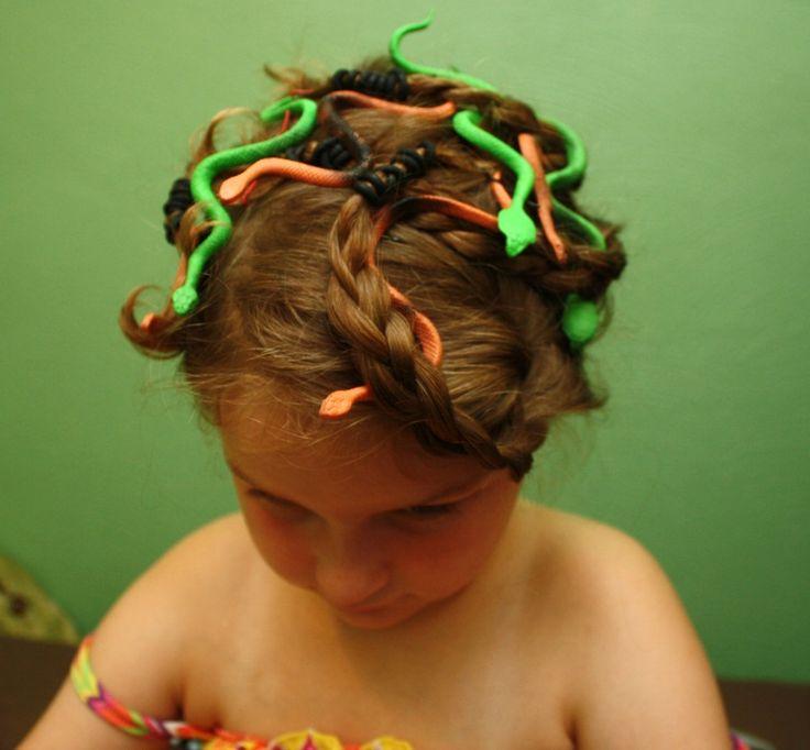easy 3 medusa costume and makeup tutorial - Medusa Halloween Costume Kids