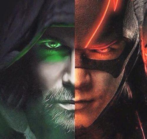 series, arrow, and DC image