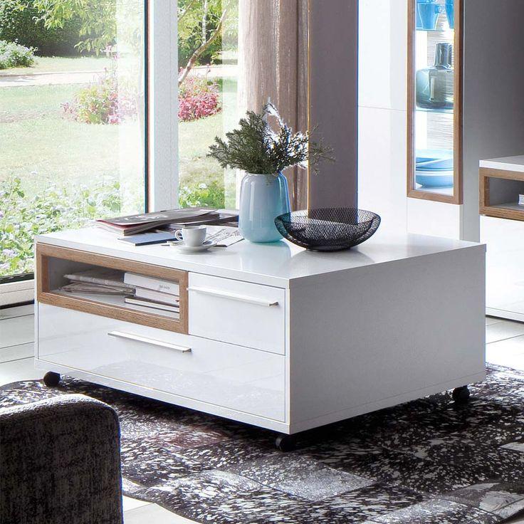 Mer enn 25 bra ideer om Rolltisch på Pinterest - wohnzimmertisch hochglanz weiß