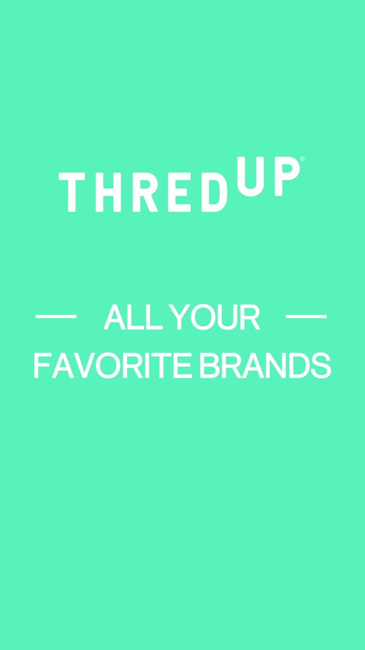 Treat yourself to the kind of quality and brand names that usually make your wallet nervous, at a price that's completely guilt-free. thredUP is your get-out-of-jail-free card to splurge impulsively for clothes and accessories you deserve. Welcome to the