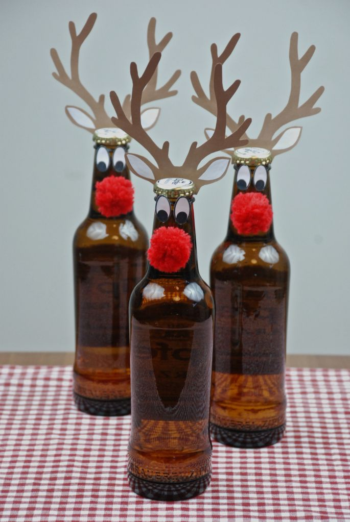DIY - Red Nose ReinBeer – free printable kostenlose Vorlage  http://barfussimnovember.com