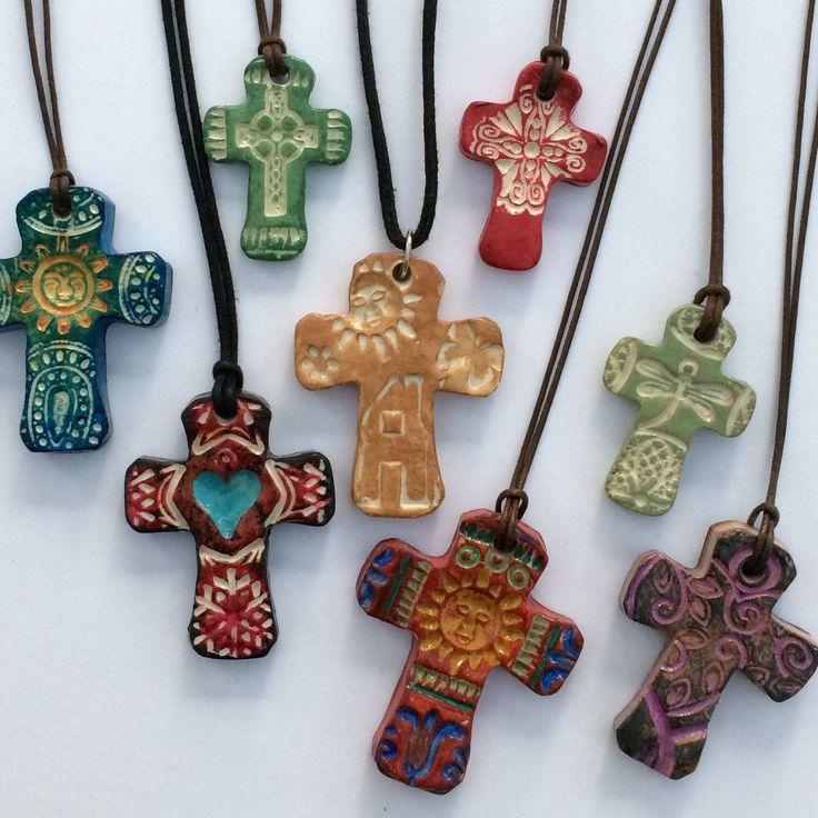Artistic handmade crosses