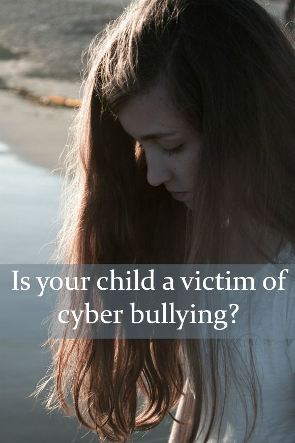 Signs Your Kids Might Be a Victim of Cyber Bullying | Our Family World #parenting #teens