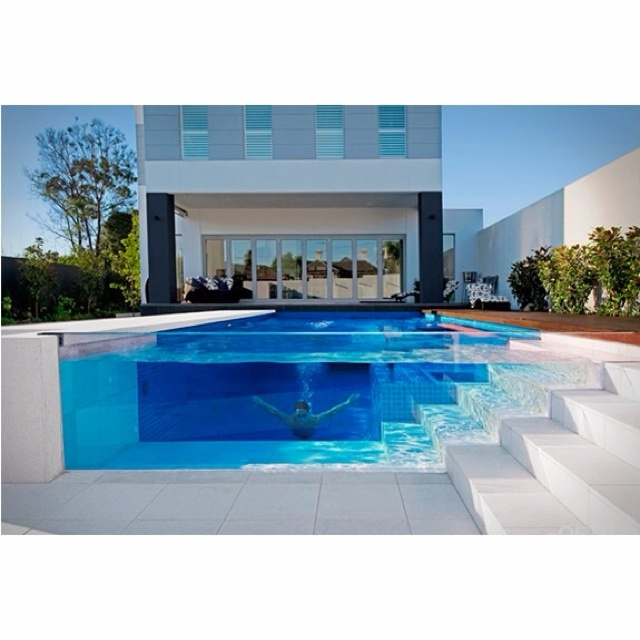 clear pool side. so coolIdeas, Swimming Pools, Future House, Dreams House, Glasses Pools, Places, Architecture, Dreams Pools, Design