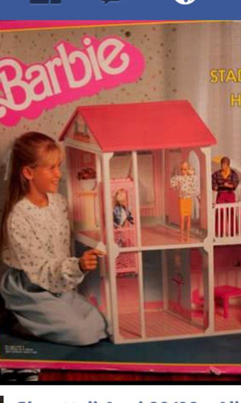 Una delle mie case di Barbie