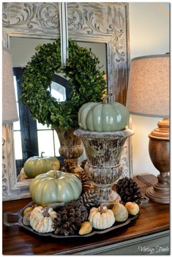 100 Fall Coffee Table Decorations Ideas Herfstdecoratie