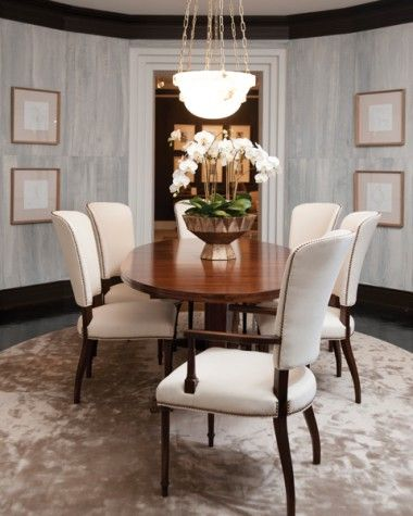 The London Dining Table would be perfect for entertaining! M. Fatheree Interiors carries beautiful products like this table in Bahia finish by Mr. and Mrs. Howard for Sherrill Furniture