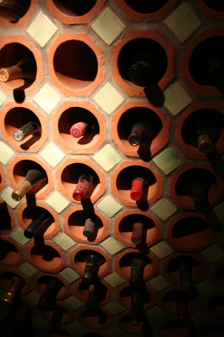 Terra Cotta Drain Pipes For Wine Storage Wine Cellar