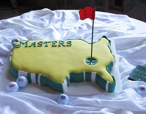 Golf Masters Groom's Cake