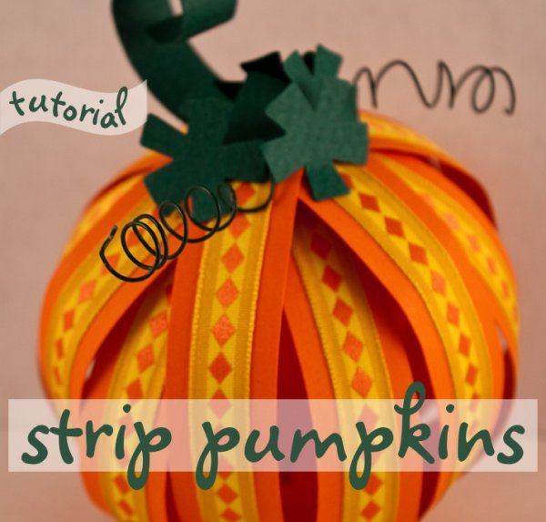modify this for a pumpkin hair bow