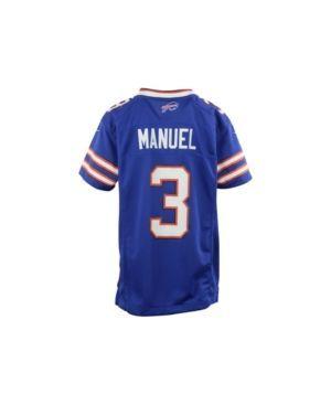 Nike Kids' Ej Manuel Buffalo Bills Game Jersey - Blue M