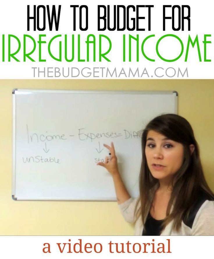 How to Budget for Irregular Income - changing your approach to the budgeting formula.   #TheBudgetMama #vlog   The Budget Mama