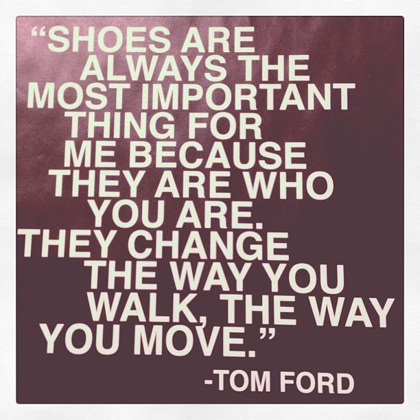 Schoenen maken de man! (en de vrouw)