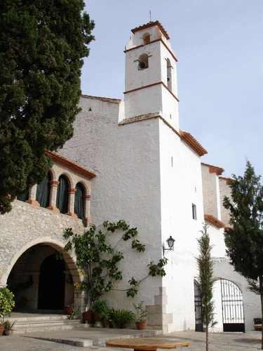 Ermita de la Pietat Serra de Godall, Tarragona, Catalonia