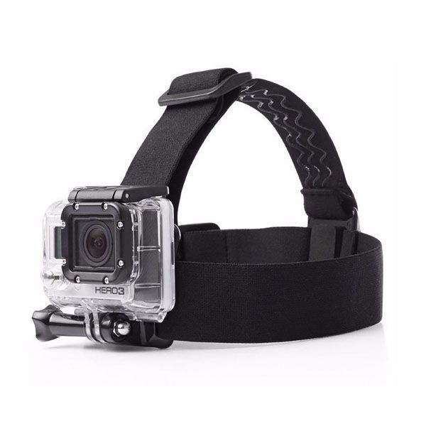 GoPro Head Strap Mount Belt For Hero 4/3+/3/2/1