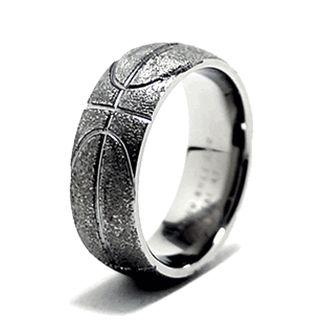 Basketball Ring, Sports Wedding Rings - Titanium-Buzz.com
