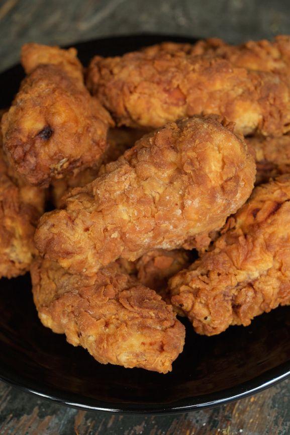 Buttermilk Deep Fried Chicken Wings