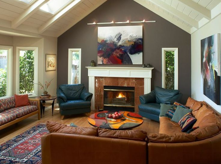 Dare To Be Different: 20 Unforgettable Accent Walls living room maybe?
